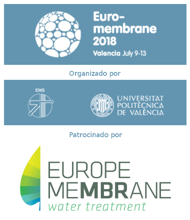 Conferencia Euromembrane 2018 en Valencia (9 - 13 de julio)