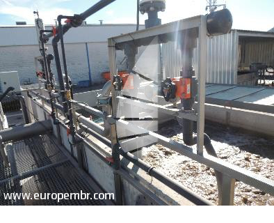 The MBR wastewater treatment plant for the agri-food industry