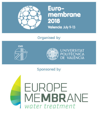 Euromembrane 2018 conference in Valencia (July 9 - 13)